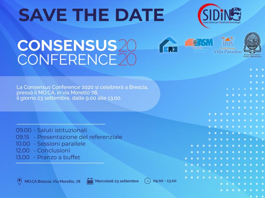 Consensus Conference 2020 – Progetto CAD