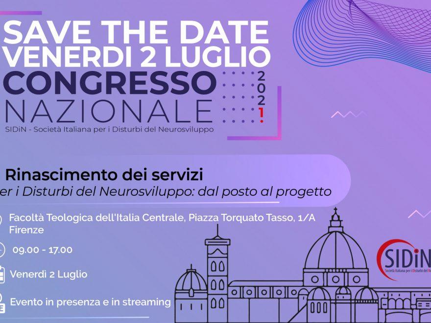 Save The Date – Il Rinascimento Dei Servizi Per I Disturbi Del Neurosviluppo: Dal Posto Al Progetto
